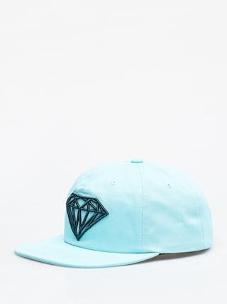 Czapka z daszkiem Diamond Supply Co. Brilliant Unconstructed ZD (diamond blue)