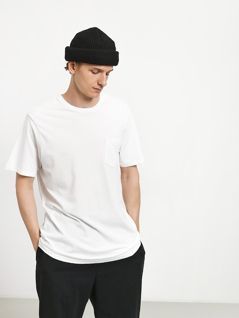 T-shirt Volcom Solid Pocket (wht)