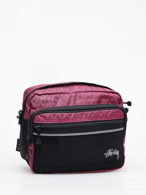 Torba Stussy Diamond Ripstop (berry)