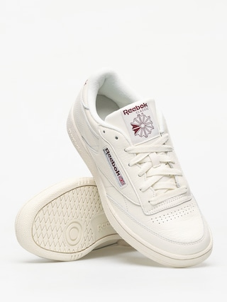 Buty Reebok Club C 85 Mu (chalk/paperwhite/mar)