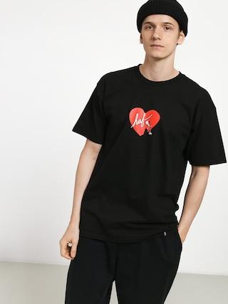 T-shirt HUF Olive Loves Huf (black)