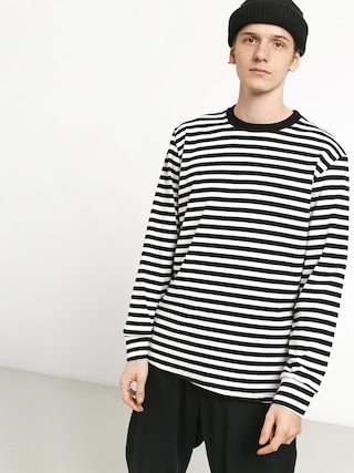Longsleeve The Hive Stripes (black/white)