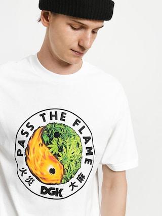 T-shirt DGK Ying Yang (white)