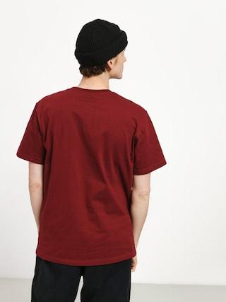 T-shirt Elade College (maroon)