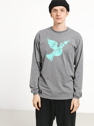 Longsleeve Nervous Icon (grey)