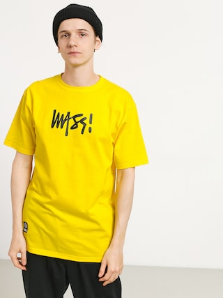 T-shirt MassDnm Signature Medium Logo (yellow)