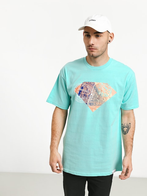 T-shirt Diamond Supply Co. Trotter (diamond blue)