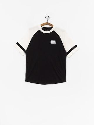 T-shirt Brixton Rockford Baseball (black/off white)