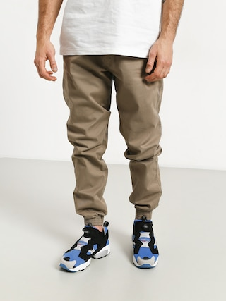 Spodnie El Polako Skórka Jogger Slim (beige)