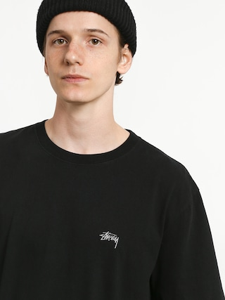 T-shirt Stussy Stock Crew (black)
