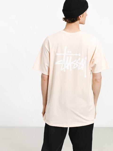 T-shirt Stussy Basic Stussy (pale pink)
