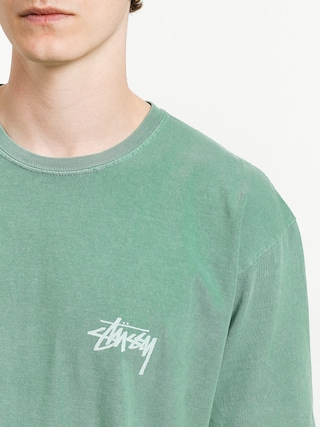 T-shirt Stussy 8 Ball Pig Dyed (sage)