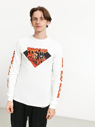 Longsleeve Diamond Supply Co. See You Soon (white)