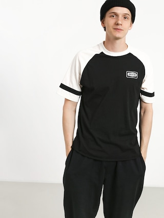 T-shirt Brixton Rockford Baseball (black/off white)