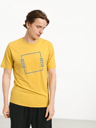 T-shirt Brixton Bolton Prt (washed yellow)