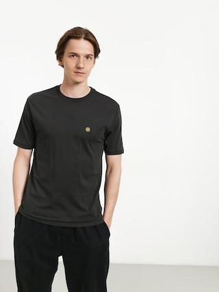 T-shirt Brixton Mob Prt (washed black)