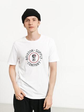 T-shirt Brixton Battalion Prt (white)
