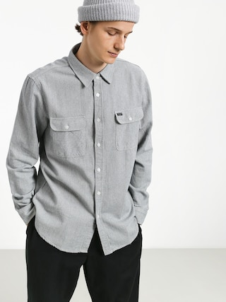 Koszula Brixton Bowery Flannel (light blue/white)