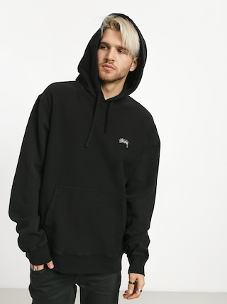 Bluza z kapturem Stussy Stock Logo HD (black)