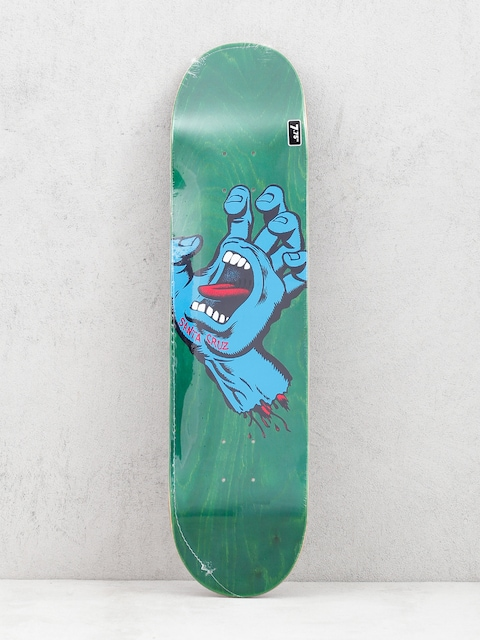 Deck Santa Cruz Screaming Hand Hard Rock (green/blue)