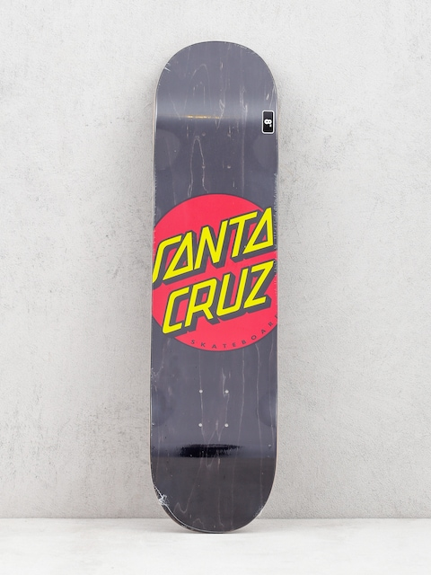 Deck Santa Cruz Classic Dot Wide (black/red/yellow)
