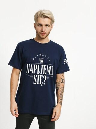 T-shirt Diamante Napijemy Się (navy)