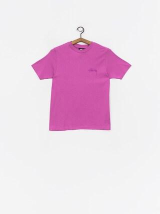 T-shirt Stussy Stock Wmn (berry)