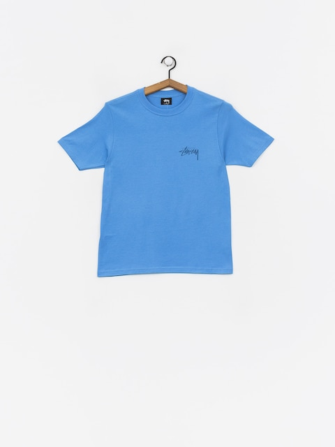 T-shirt Stussy Stock Wmn (blue)