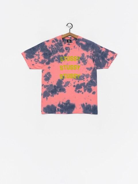T-shirt Stussy Triple Arch Td Wmn (pink)