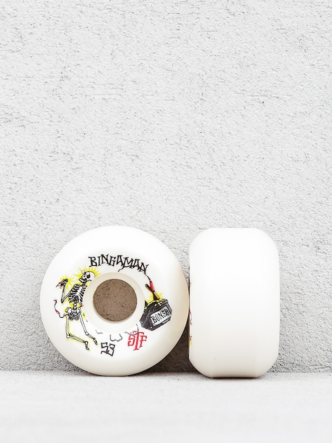 Kółka Bones Bingaman Zapped Streettech Formula V5 (white/black)