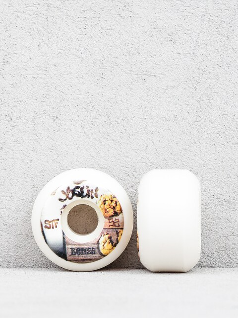 Kółka Bones Joslin Cookies Streettech Formula V5 (white/brown)