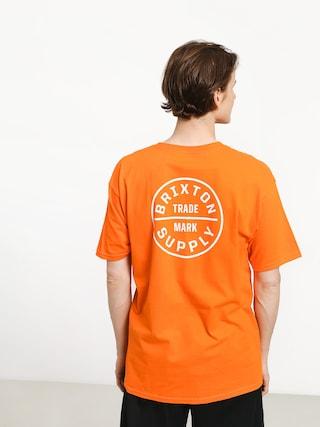 T-shirt Brixton Oath Stt (orange)