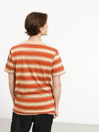 T-shirt Brixton Hilt Pkt (henna/parchment)