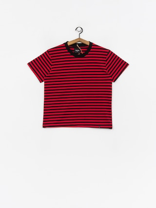 T-shirt The Hive Stripe Wmn (black/red)