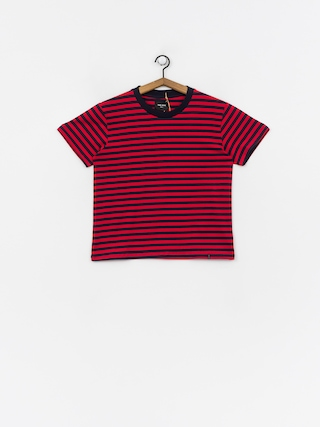 T-shirt The Hive Stripe Wmn (navy/red)