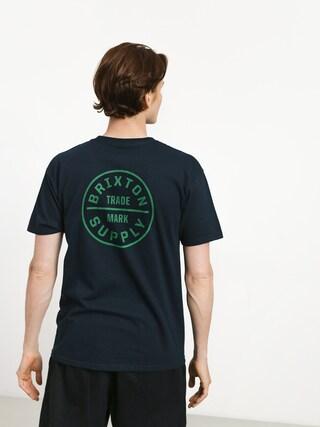 T-shirt Brixton Oath Stt (navy/grey)
