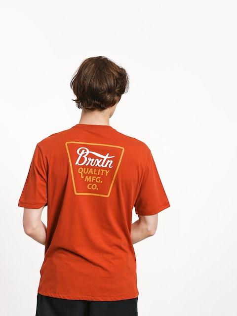 T-shirt Brixton Potrero Prem (henna)