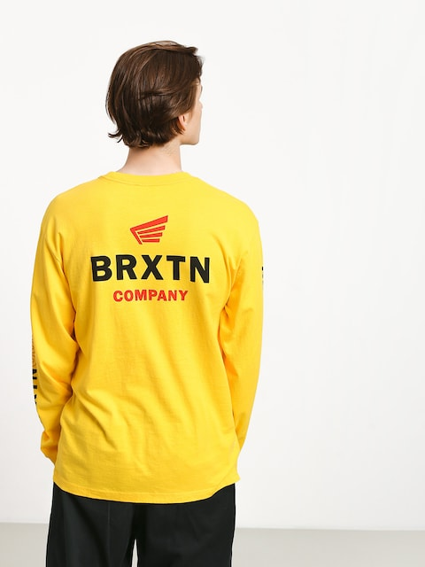 Longsleeve Brixton Peabody II Sv (yellow)