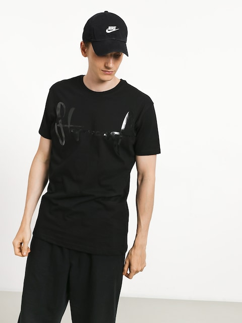 T-shirt Stoprocent Base Tag (black/black)