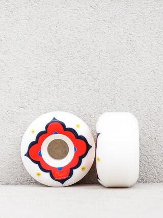 Kółka Crupie C R 02 (white/red)