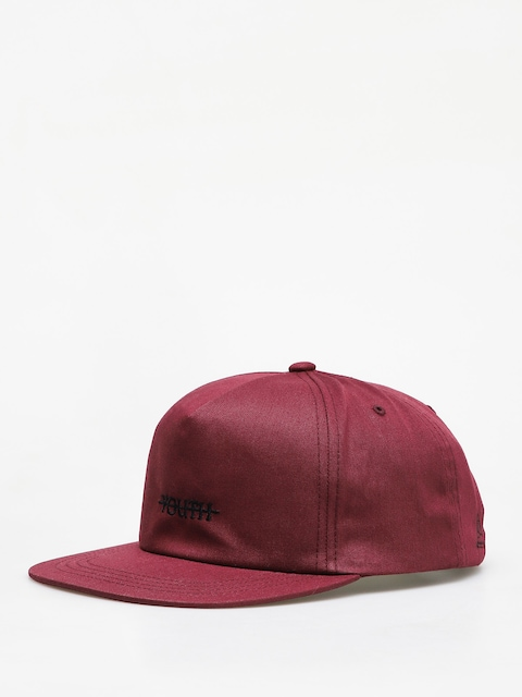 Czapka z daszkiem Youth Skateboards Devil Logo Floppy (burgundy)