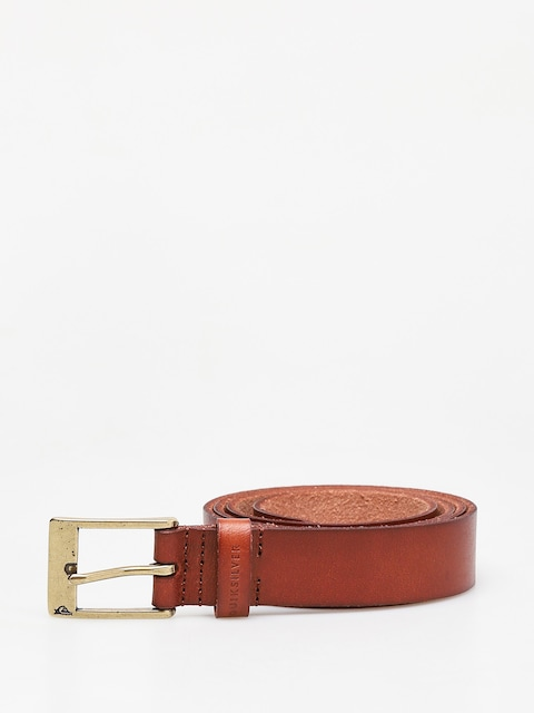 Pasek Quiksilver Slim Premium Leather (chocolate brown)