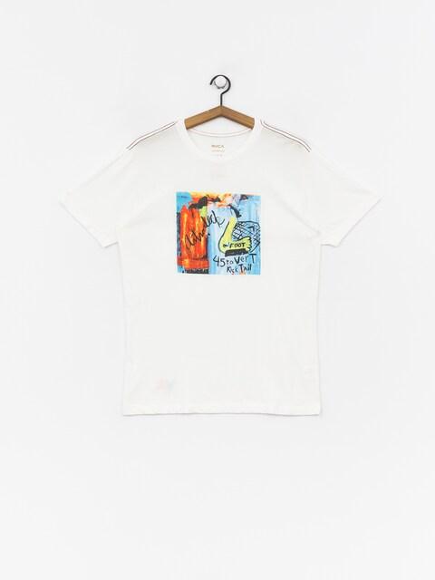 T-shirt RVCA Kick Tail (antique white)
