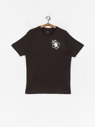 T-shirt RVCA Mono Flower (pirate black)