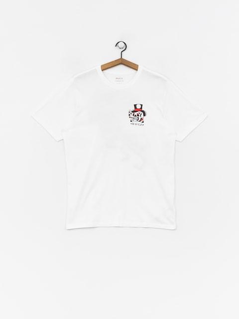 T-shirt RVCA Pick Your Battles (white)