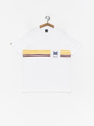 T-shirt Malita Stripes (white)