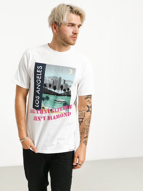 T-shirt Diamond Supply Co. Sighter (white)