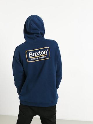 Bluza z kapturem Brixton Palmer Intl HD (deep blue)