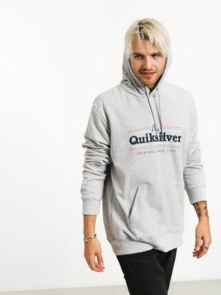 Bluza z kapturem Quiksilver Get Buzzy Screen Fleece HD (athletic heather)