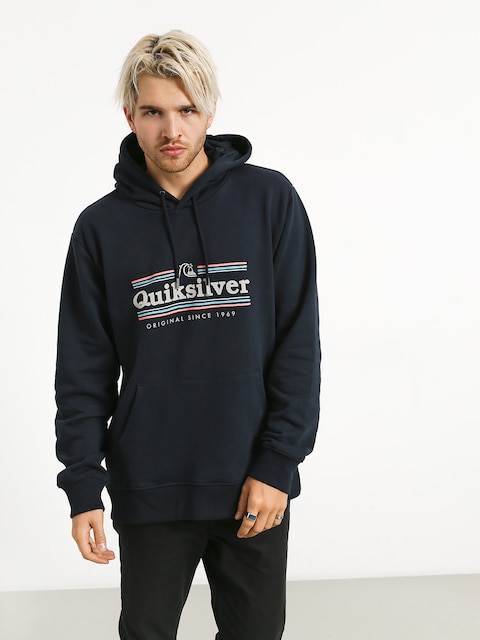 Bluza z kapturem Quiksilver Get Buzzy Screen Fleece HD